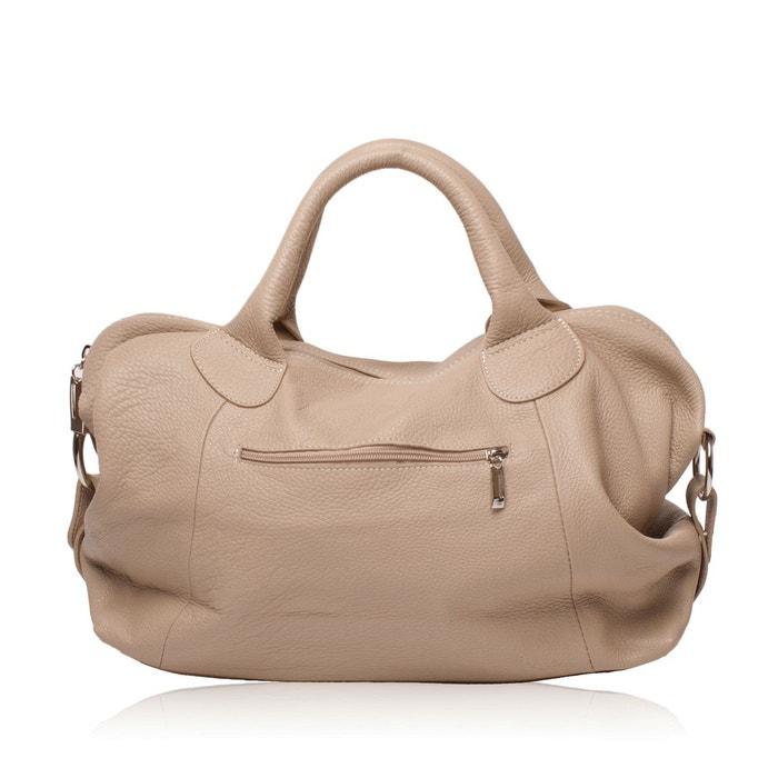 a93862fdad Sac à main cuir grainé chambord Oh My Bag   La Redoute