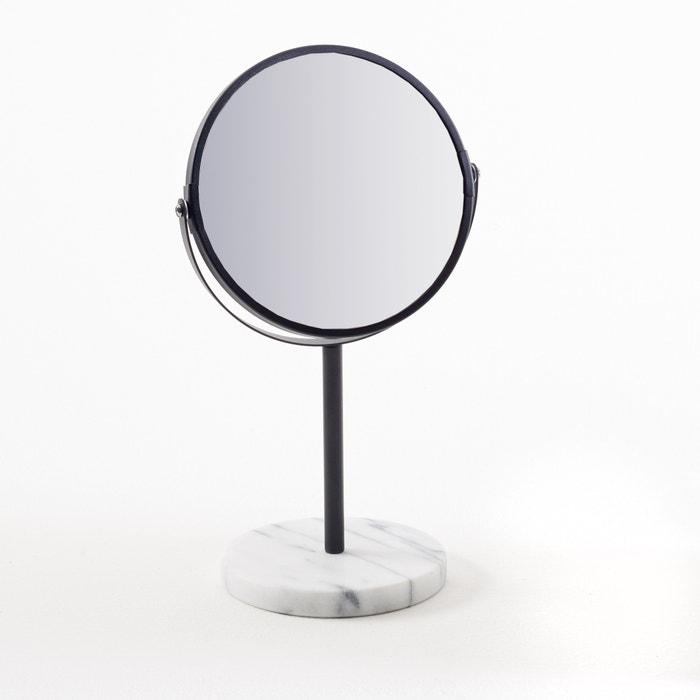 Miroir sur pied socle en marbre selias la redoute for Miroir sur pied fly
