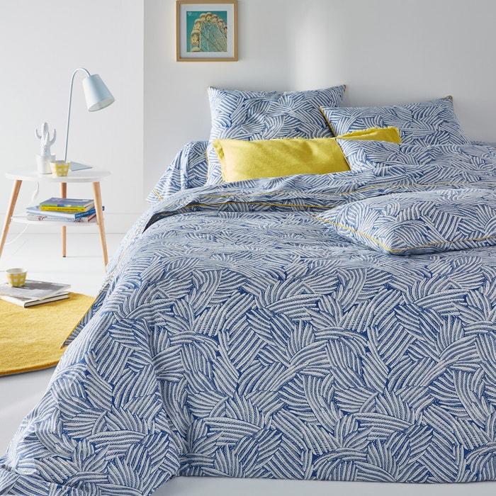 housse de couette imprim e mistral bleu la redoute interieurs bleu blanc la redoute. Black Bedroom Furniture Sets. Home Design Ideas