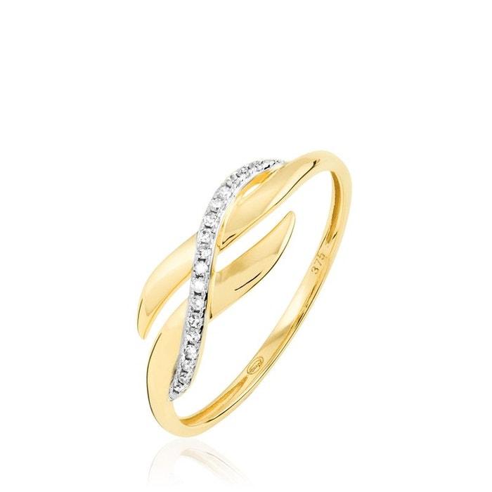 100% Garanti À Vendre Visiter Le Nouveau Pas Cher En Ligne Bague ester or jaune vague diamants jaune Histoire D'or | La Redoute sioTKRV0D