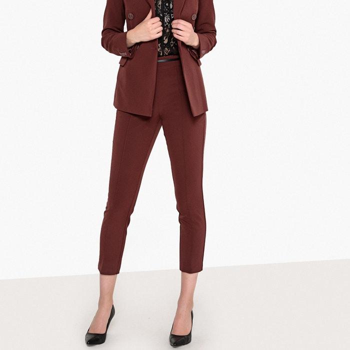 "Slim Fit Cigarette Trousers, Length 26.5""  La Redoute Collections image 0"