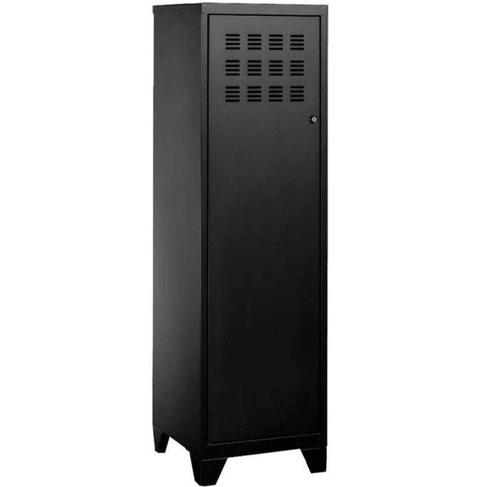armoire de rangement m tal 1 porte pierre henry la redoute. Black Bedroom Furniture Sets. Home Design Ideas