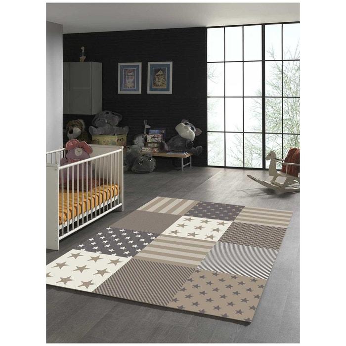 tapis flag start tapis enfants par unamourdetapis beige un. Black Bedroom Furniture Sets. Home Design Ideas