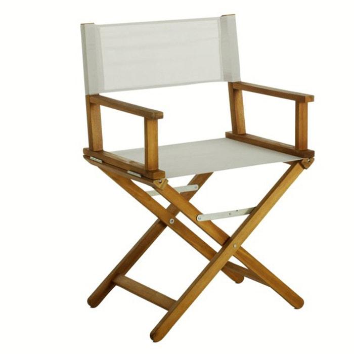 acacia director 39 s chair la redoute interieurs la redoute. Black Bedroom Furniture Sets. Home Design Ideas