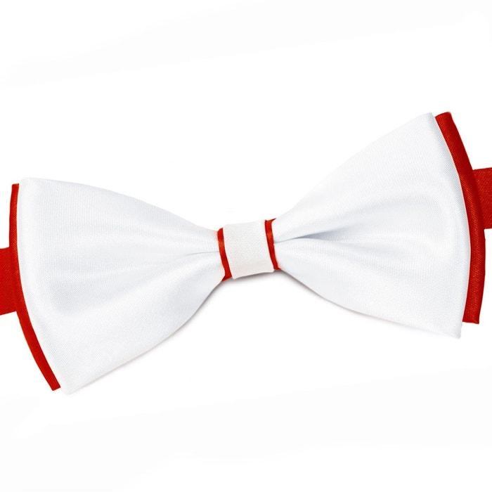 Noeud papillon becool blanc sur rouge bleu Dandytouch | La Redoute Jeu Best-seller U8RncDf3qA