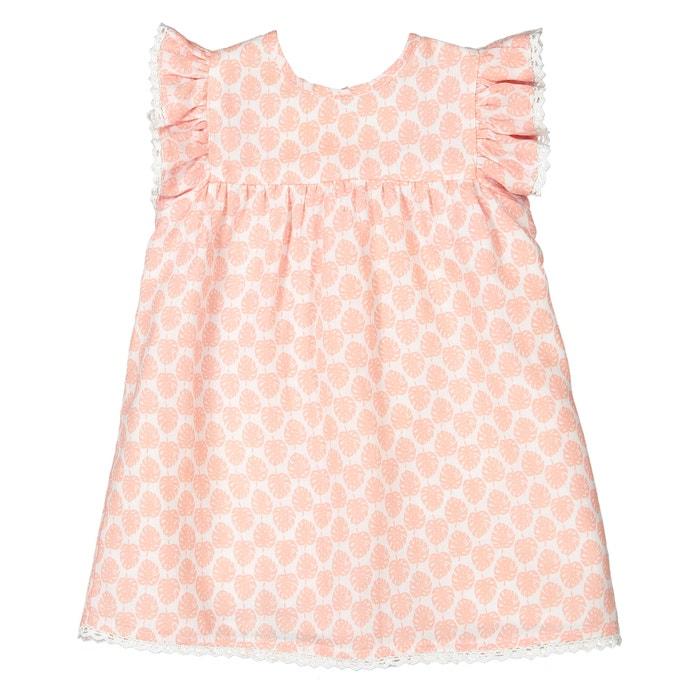 0161862b4 Conjunto de dos prendas vestido + pantalón bombacho, 0 meses - 3 años  estampado rosa La Redoute Collections | La Redoute