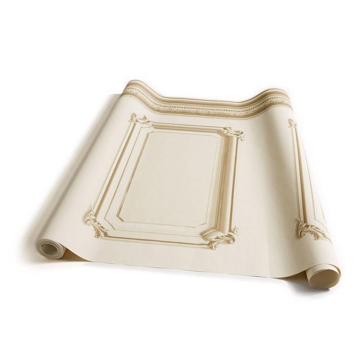 papier peint soubassement haussmannien beige beige koziel la redoute. Black Bedroom Furniture Sets. Home Design Ideas