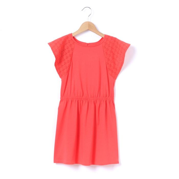 Frill Short-Sleeve Dress, 3-12 Years