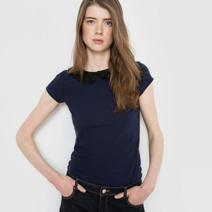 T-shirt col bijoux MADEMOISELLE R