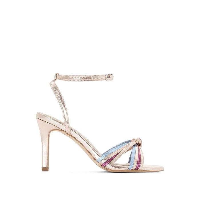 Sandales métallisées multicolore Mademoiselle R