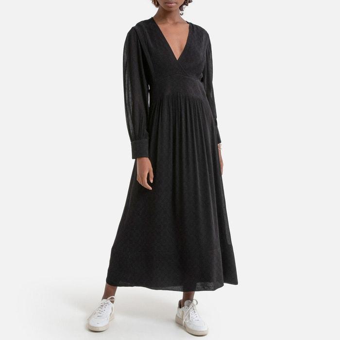 Robe Longue Fluide Lamia Noir Ba Sh La Redoute