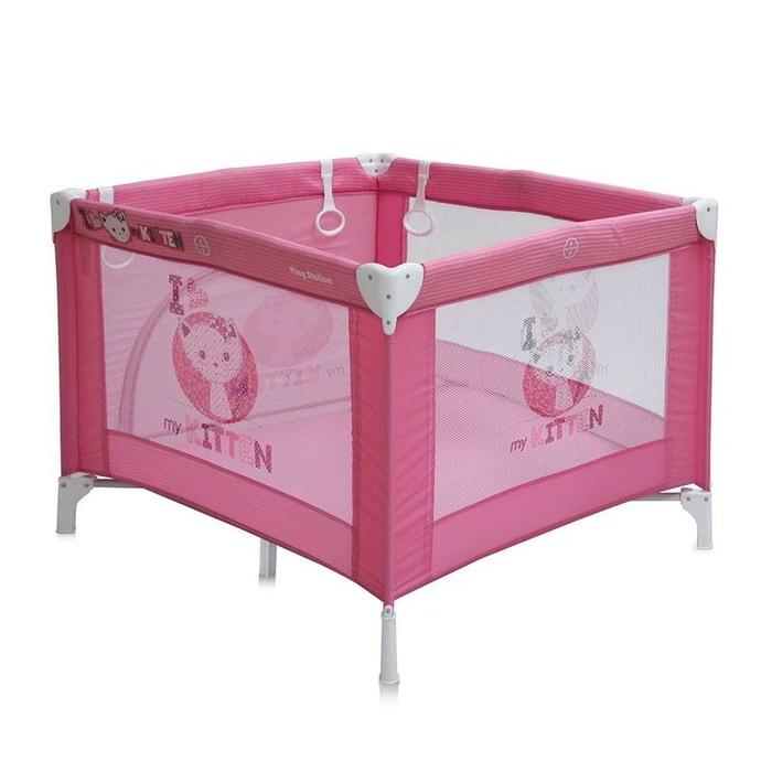 parc b b pliant parc pliable pour b b play station lorelli rose couleur unique lorelli la. Black Bedroom Furniture Sets. Home Design Ideas