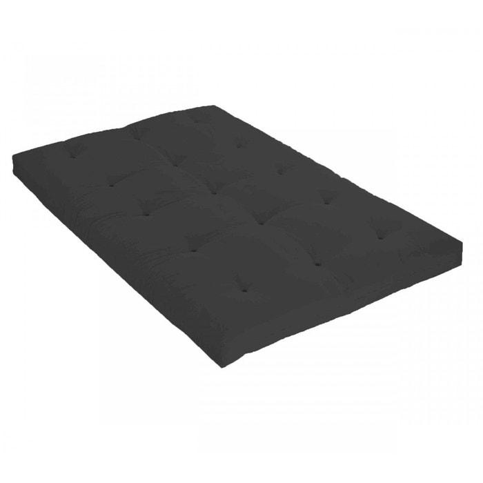 Matelas futon gris anthracite en latex gris terre de nuit la redoute - Matelas la redoute soldes ...