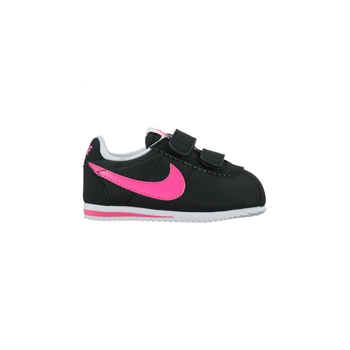 Basket cortez nylon enfant  noir Nike  La Redoute