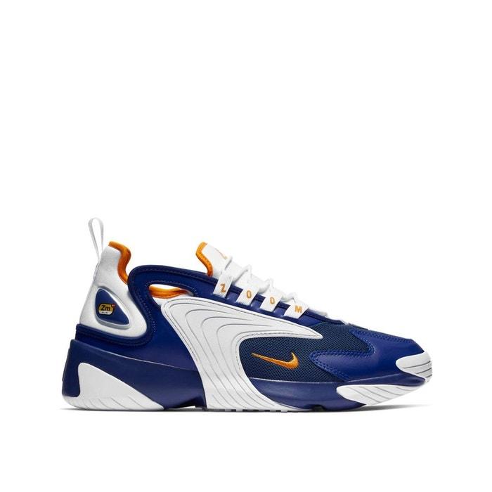 timeless design 262ae 8f431 Baskets zoom 2k blanc bleu Nike   La Redoute