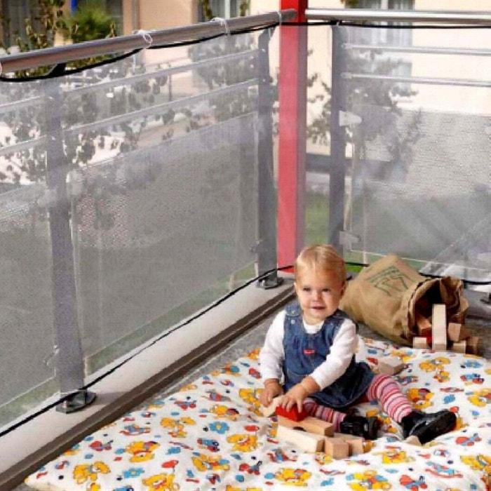 reer le filet de protection pour balcon filet de s curit blanc reer la redoute. Black Bedroom Furniture Sets. Home Design Ideas