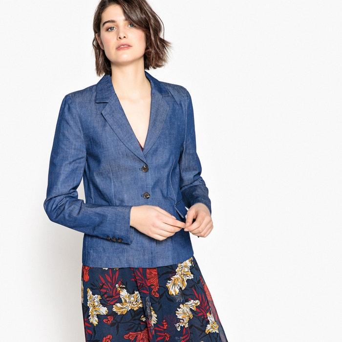 Imagen de Chaqueta estilo blazer de denim La Redoute Collections