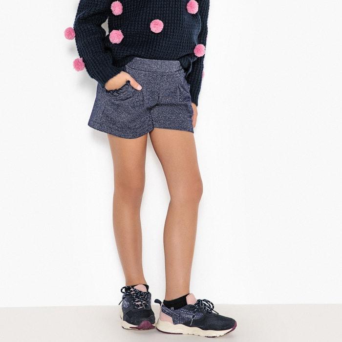 Shorts in felpa brillante 3 - 12 anni  La Redoute Collections image 0