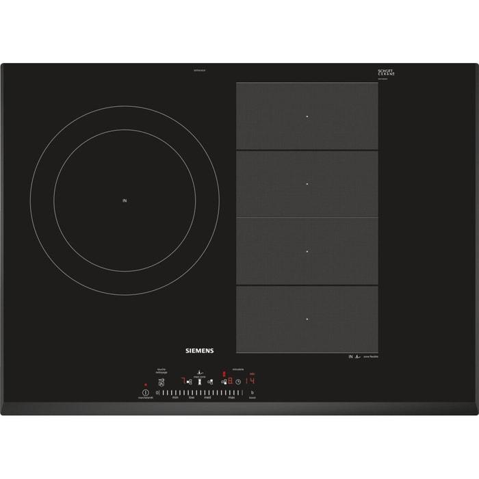 table induction siemens ex751fjc1f siemens la redoute. Black Bedroom Furniture Sets. Home Design Ideas