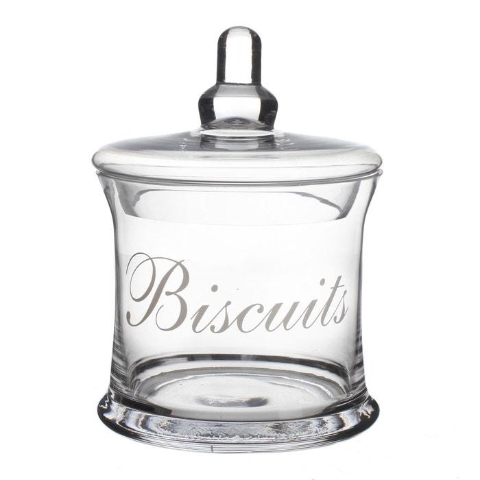Bonbonni re biscuits verre transparent secret de gourmet la redoute - Assiette secret de gourmet ...