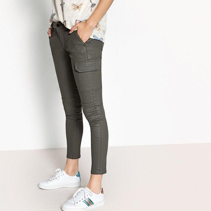 Enduit La Redoute Pantalon Survivor Jeans Pepe Skinny Kaki TqvYAq