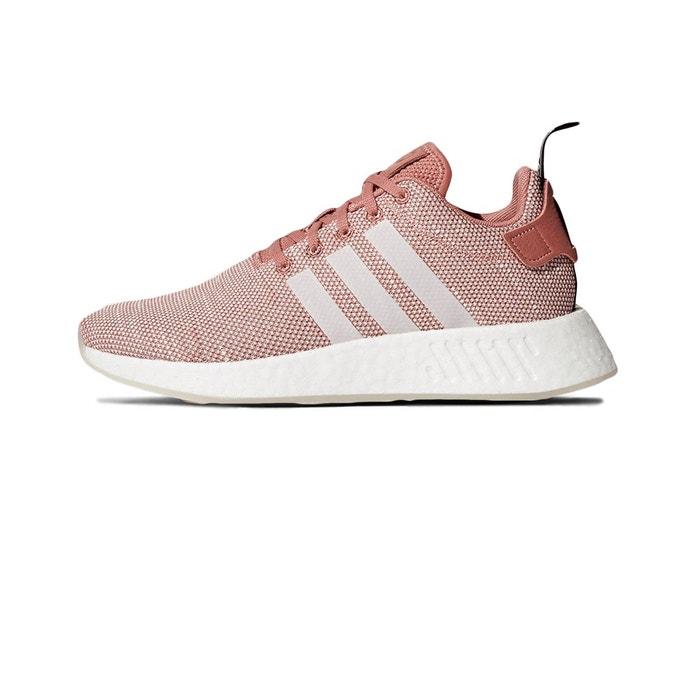 Basket nmd r2  rose Adidas Originals  La Redoute