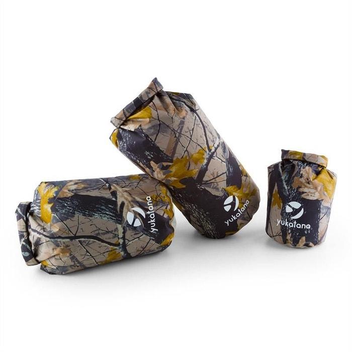 Treckset Camo Set de Sacs marin Imperméable 3 pcs. 5/15/20l Camouflage RkrSQV