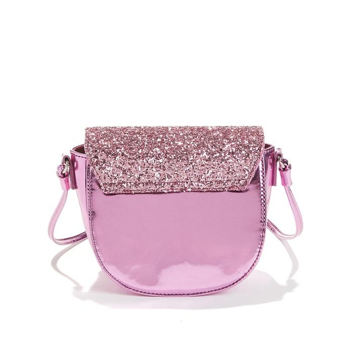 71b8718a42 Piccola borsa bambino con paillettes rosa color oro La Redoute Collections  | La Redoute