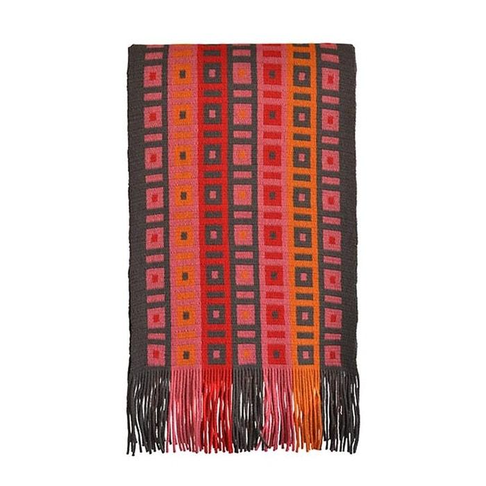 Echarpe en laine fabriquée en france, modèle macadam Toutacoo | La Redoute
