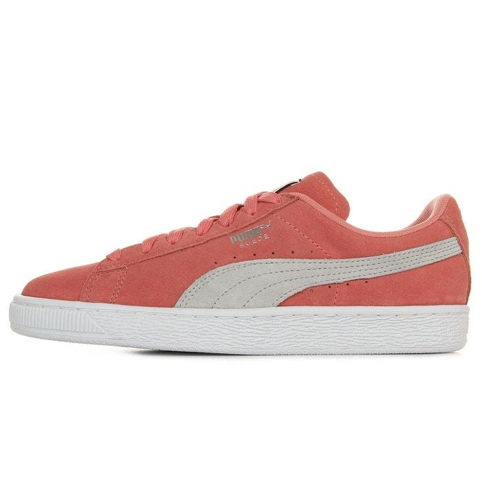 Baskets femme suede classic ws rose/gris Puma