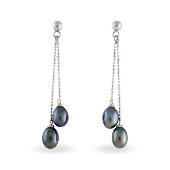 Boucles d'oreilles perles de culture histoire d'or