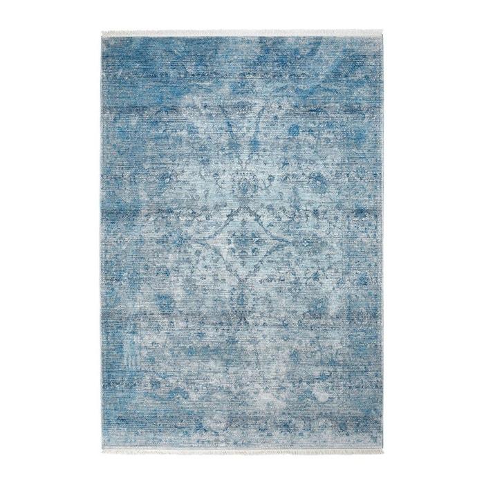 tapis vintage courtes m ches bleu akar bleu deladeco la redoute. Black Bedroom Furniture Sets. Home Design Ideas