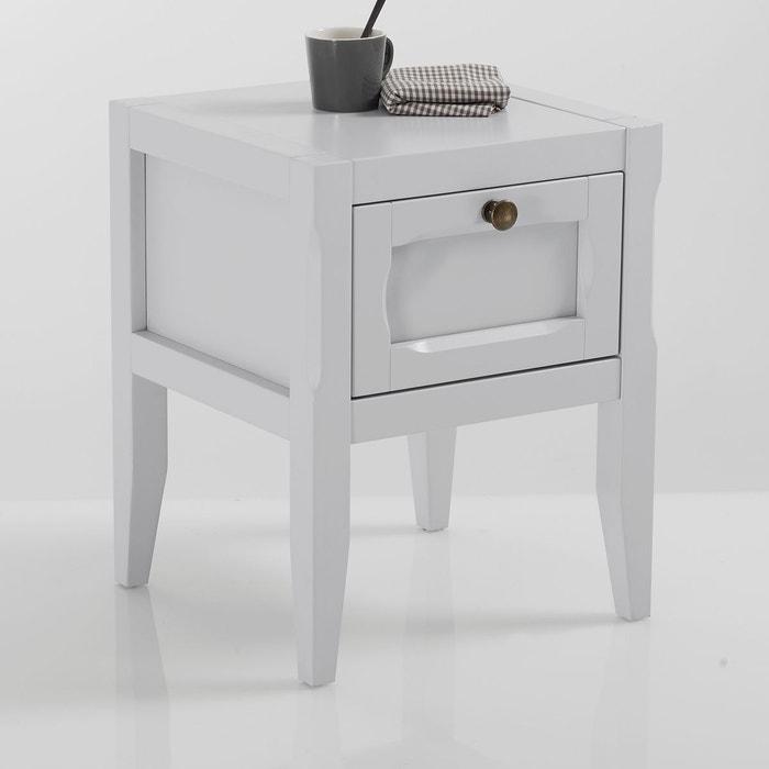 chevet eug nie gris clair la redoute interieurs la redoute. Black Bedroom Furniture Sets. Home Design Ideas