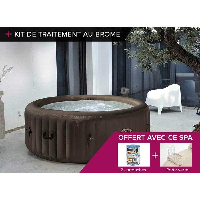 spa gonflable intex purespa rond jets 4 pl kit brome couleur unique intex la redoute. Black Bedroom Furniture Sets. Home Design Ideas