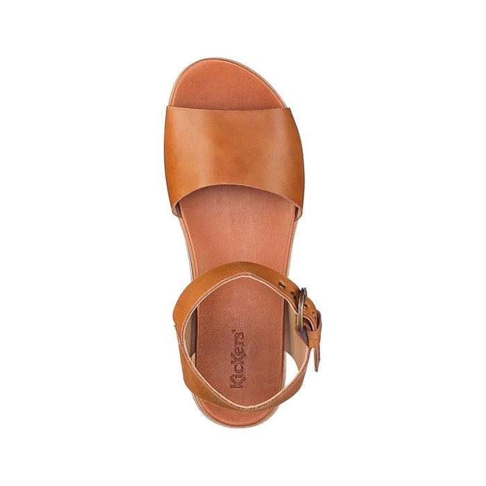 Sandales cuir olimpi Kickers