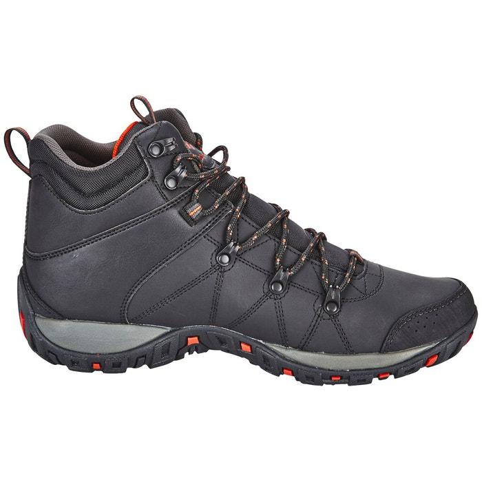 Peakfreak venture - chaussures homme - mid wp omni-heat noir noir Columbia