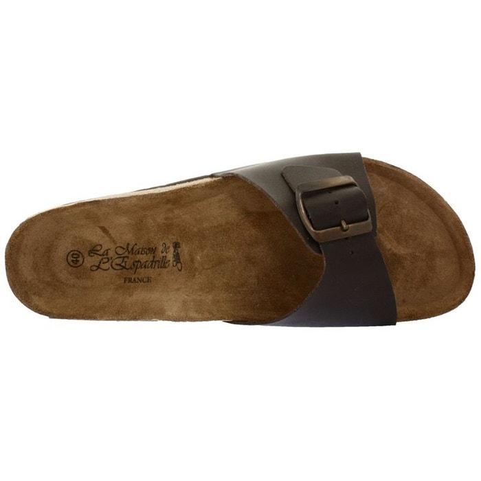 Chaussures à lacets cuir  marron Maison De L'espadrille  La Redoute