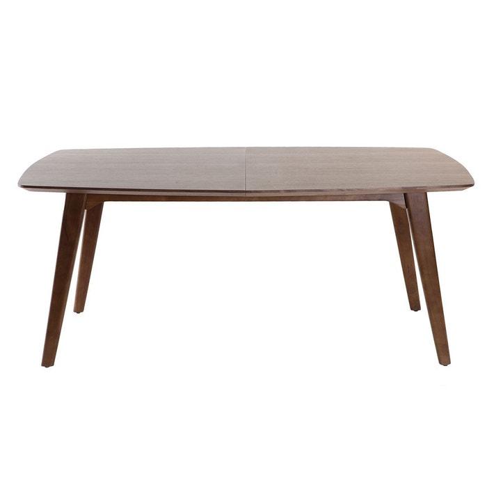 Table Design L180 À Noyer Fifties Manger Extensible 230 5qARj34L