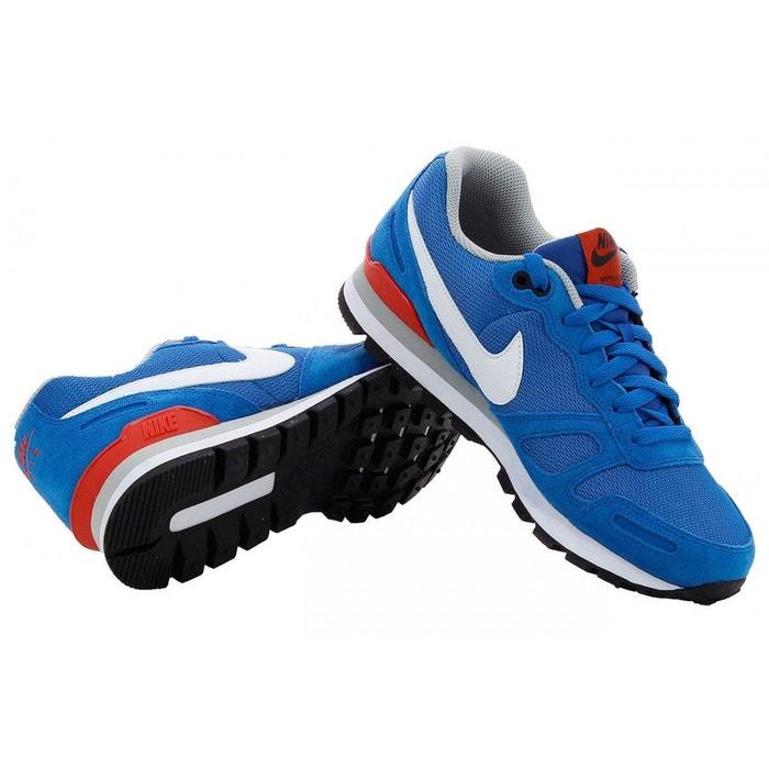 Basket nike air waffle trainer - 429628-406 bleu Nike