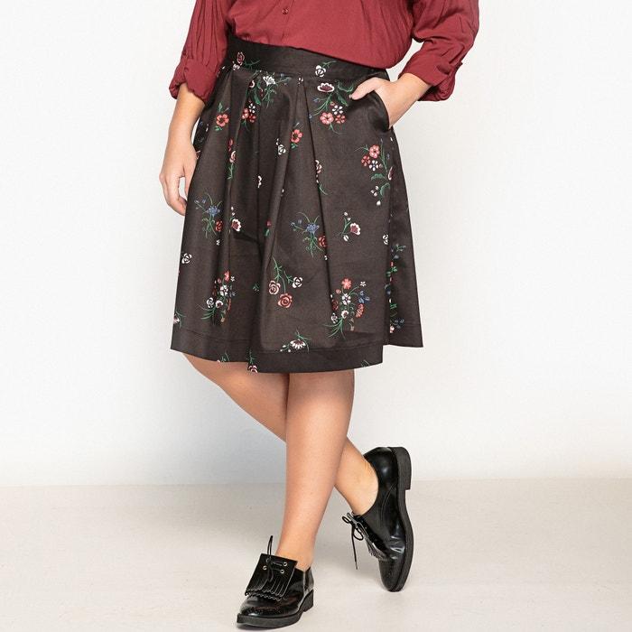 Floral Print Skater Skirt  CASTALUNA PLUS SIZE image 0