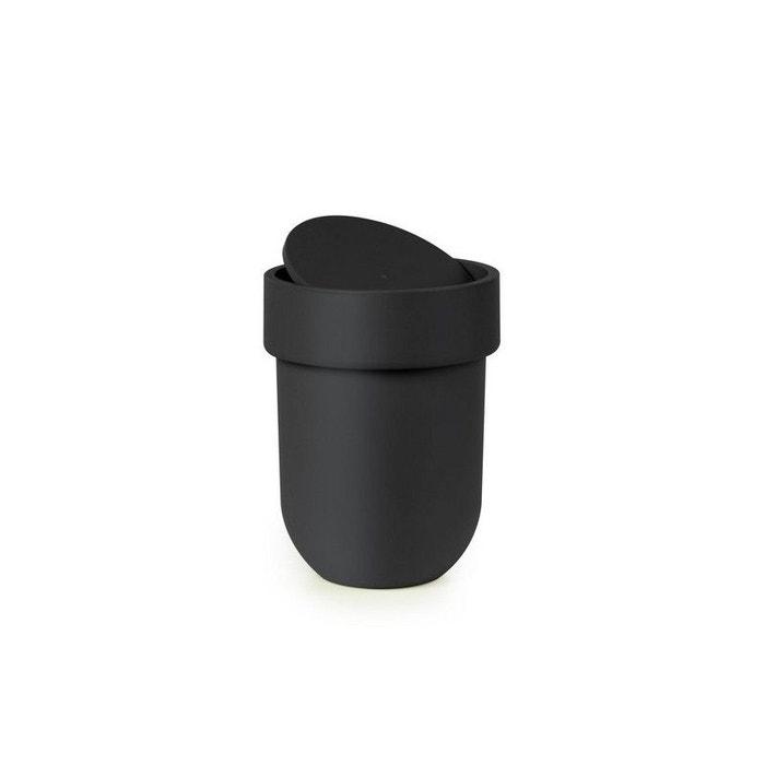poubelle salle de bains noire design umbra touch. Black Bedroom Furniture Sets. Home Design Ideas