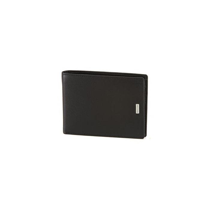 Nyx 3 slg portefeuille cuir noir Samsonite   La Redoute Images Footlocker YNENnDr1l
