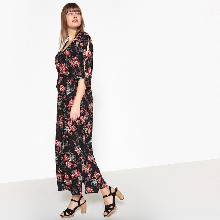 Floral Print V-Neck Dress  CASTALUNA image 0