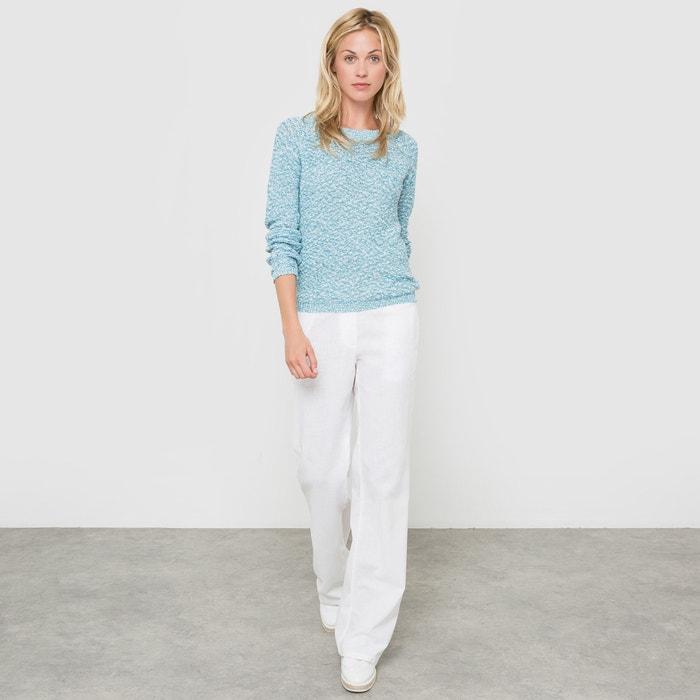 Image Pantalon large en lin/coton R essentiel