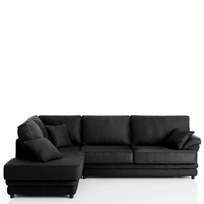 Image Canapé d'angle, fixe, confort supérieur, coton demi-natté, Newcastle La Redoute Interieurs