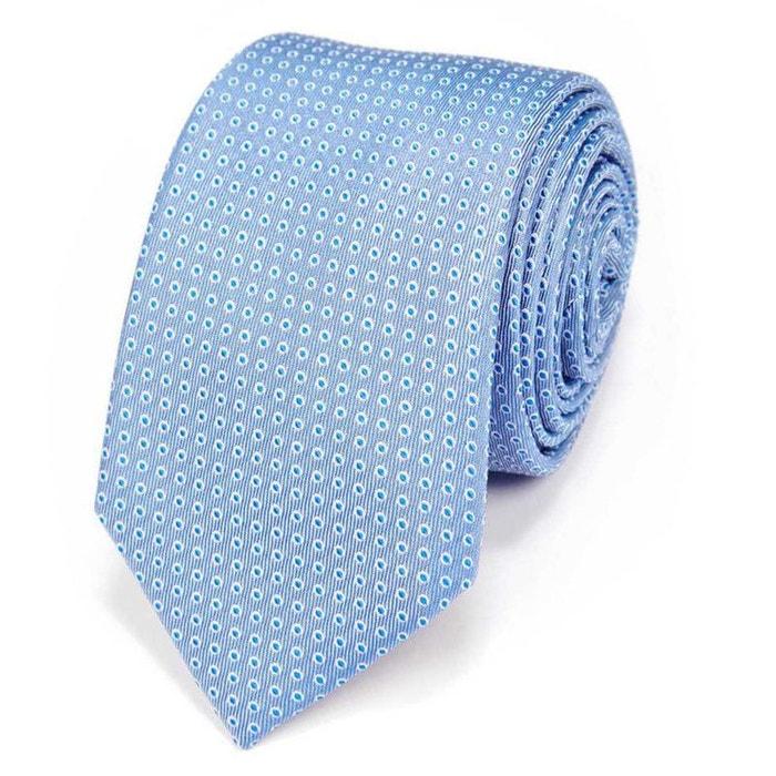 achats comment commander pas cher Cravate motifs gouttes d'eau
