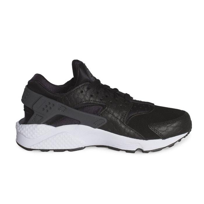 Basket air huarache run prm noir Nike