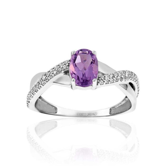 Bague or 375/1000 améthyste violet Cleor | La Redoute vraiment Sr1KlCveGp