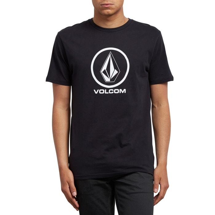 T-shirt scollo rotondo maniche corte fantasia davanti  VOLCOM image 0