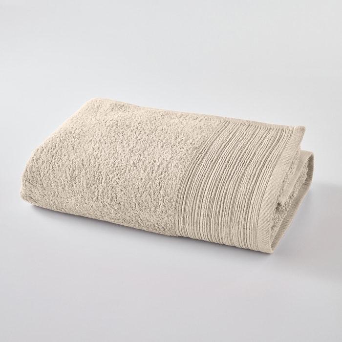 Image Drap de bain uni éponge coton biologique SCENARIO